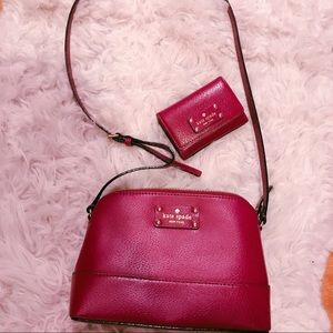 Kate Spade Purse and small wallet